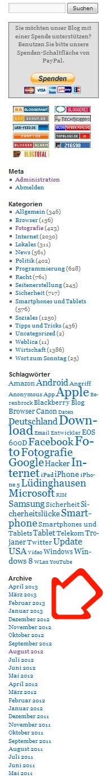 BlogArchivPfeil