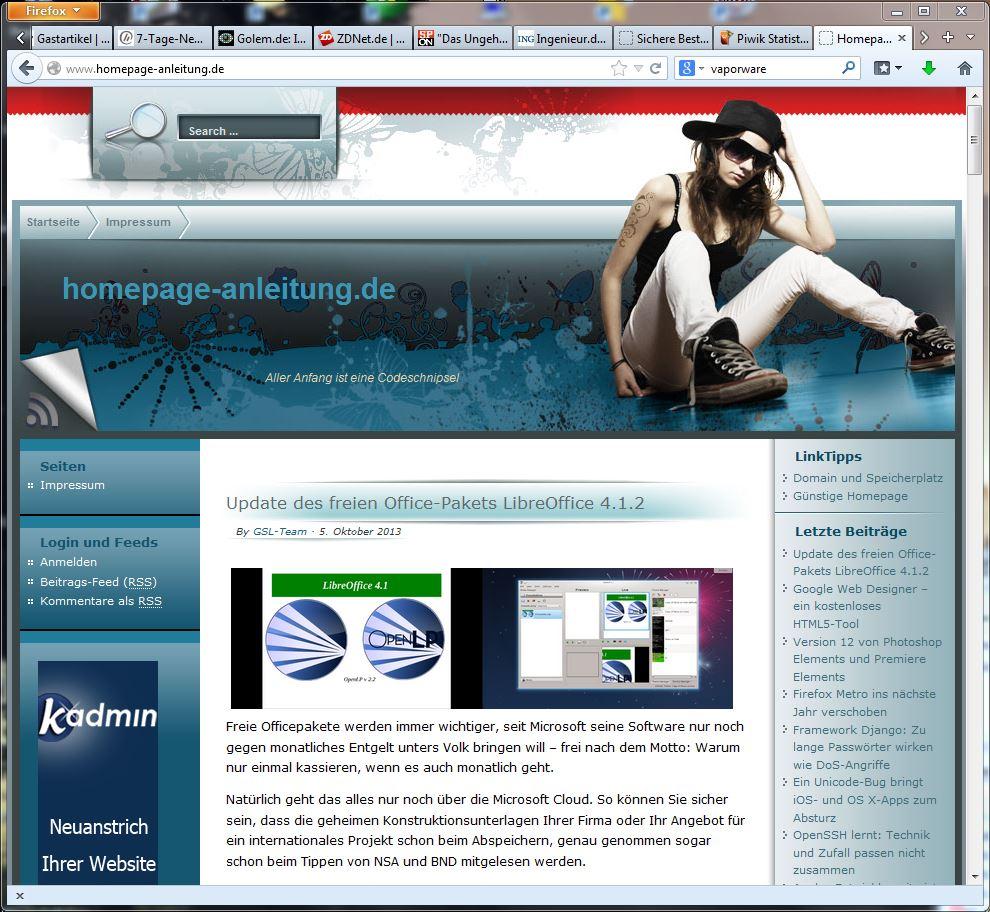 homepage-anleitung.de