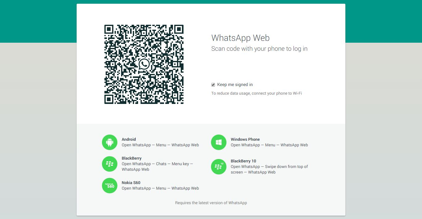 WhatsAppWebClientChrome