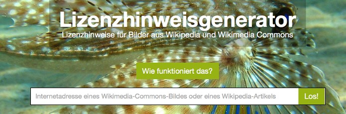 WikipediaLizenzhinweisgenerator