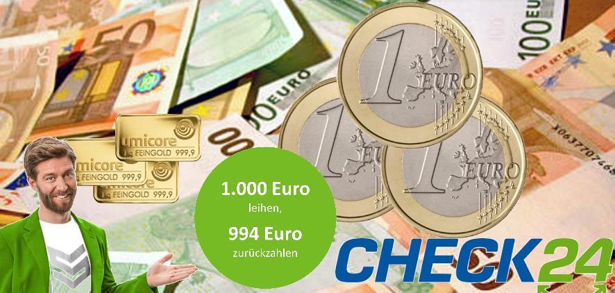 1000 euro kredit 994 euro zur ckzahlen der kreditprofi. Black Bedroom Furniture Sets. Home Design Ideas